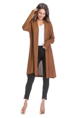 Casual Lightweight Long Sleeve Cardigan Soft Tops